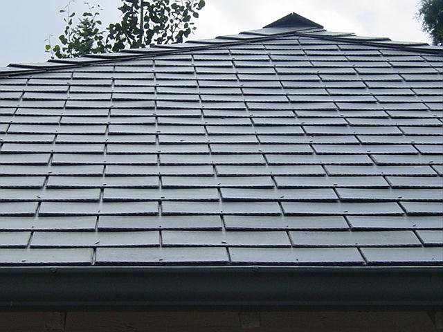 Asbestos Roofing Shingles Also Known As Transite Shingles